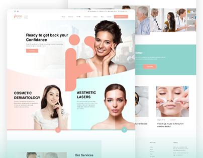 Website Design for Skin Clinic
