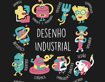 Camisetas Desenho Industrial 2019