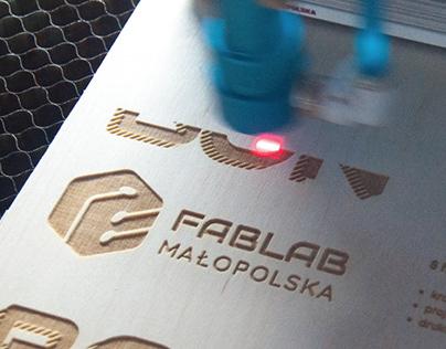 System identyfikacji wizualnej dla FabLab Małopolska