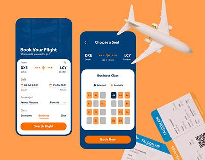 Flight Booking App Design