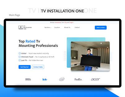 TV Installation - Website