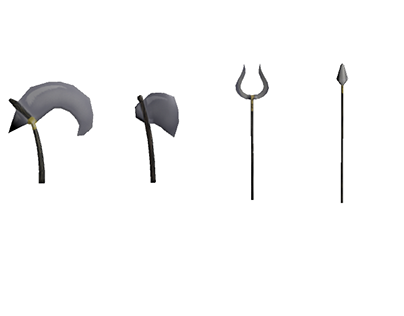 Low-poly Weapons and Items