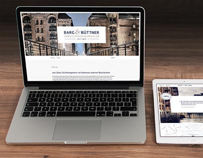 Barg & Büttner – Corporate Design & Website