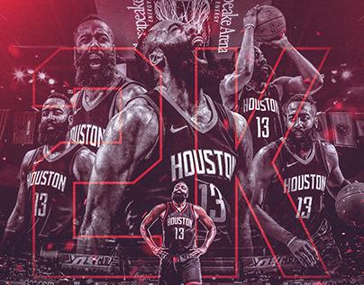 NBA Art | James Harden 2k Points