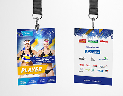 CEV Masters Pelhřimov / beachvolleyball key visual