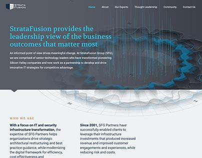 StrataFusion Group Marketing Website