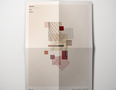 Morphological abstract poster