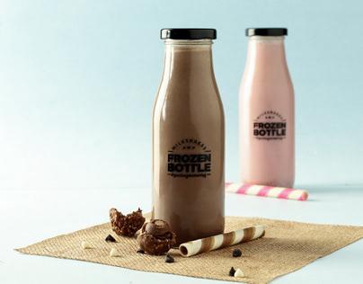 Product Shoot- Frozen Bottle