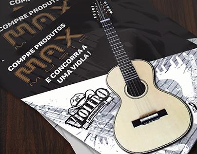 Material impresso Max Music