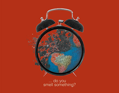 Poster: ... do you smell something? Save the World.
