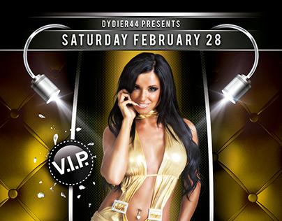 Style Nightclub Flyer Design