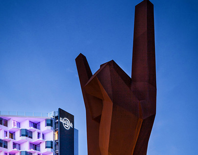 Escultura Hard Rock Hotel Ibiza