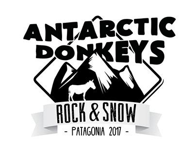 Antartic Donkeys - seasonal Isologo y flyer