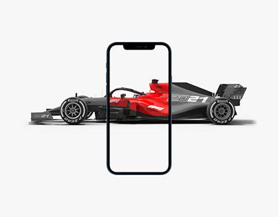 Formula 1 E-Commerce Store UX/UI