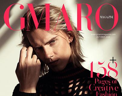"""Still the same"" cover story for GMARO magazine"