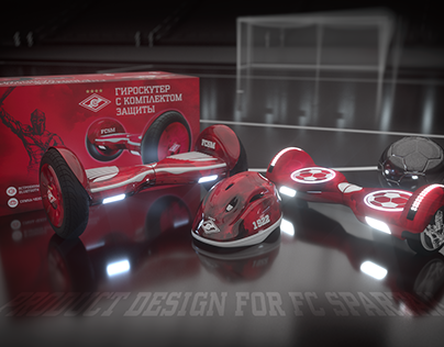 Product design for FC Spartak