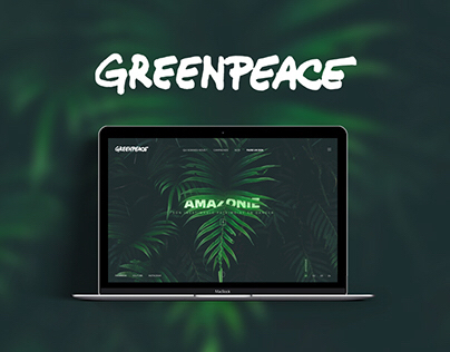 Greenpeace - Website - Redesign concept