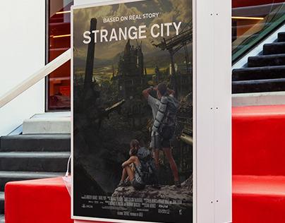 Movie Poster Manipulation   STRANGE CITY