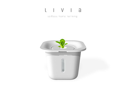 LIVIA - Easy Home Hydroponics