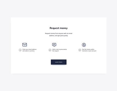 Day 1196・Request Money UI Design