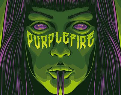 Purple Fire - Venom Rolling paper