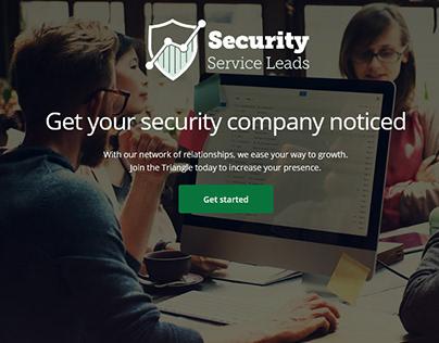 Security Service Leads provider ~ Webfolio