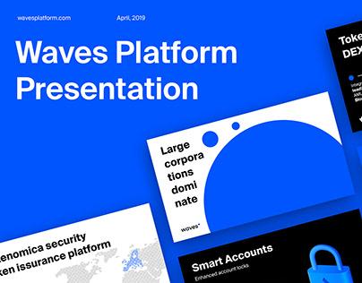 Waves Platform Birthday Meetup Presentation