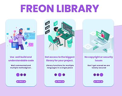APP UI (Library App)