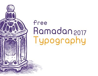 Ramadan Free Typography - 2017