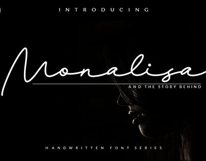 Free Download. Monalisa Script Font