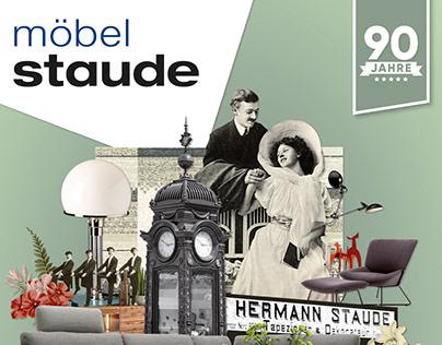 Möbel Staude | Kampagne zum 90. Firmenjubiläum