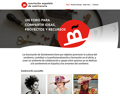 Spanish Hat Guild Association Website