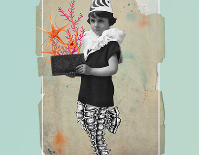 When I grow up...| Digital Collage