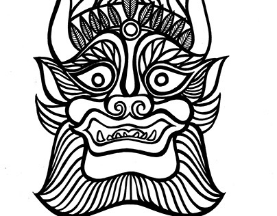 Graphic design for TOTEM tobacco brand