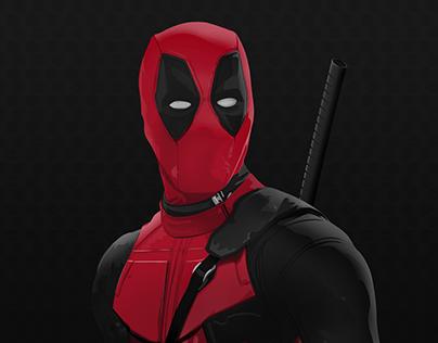 Deadpool Vector Portrait