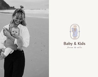 BABY&KIDS / CHILDREN'S CLOTHING STORE LOGO