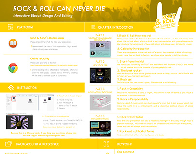 Rock and Roll can never die E-book