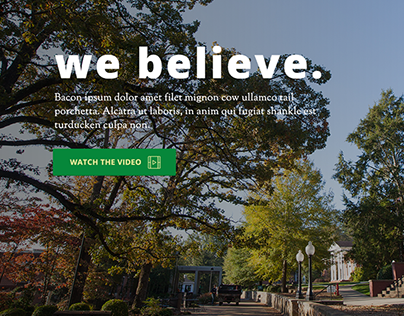 Capital Campaign Site, Southern Adventist University