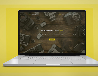 Photograph Web UI Design