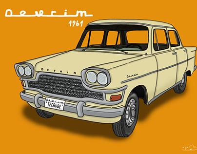 devrim arabası - 1961 (devrim car's)
