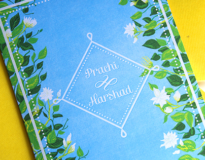 Wedding Card: Prachi & Harshad