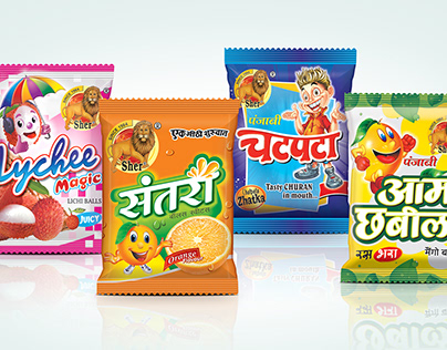 Confectionery Packaging & Branding