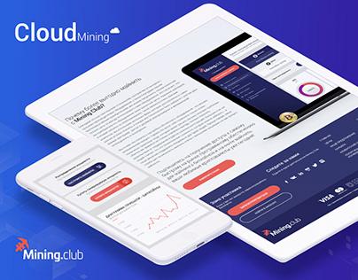 MiningClub — Cloud Mining Cryptocurrency