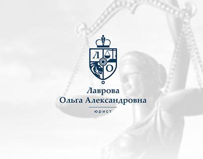 Olga Lavrova Lawyer | Brand Identity