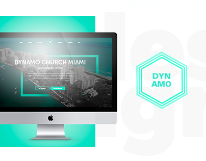 Website design & development for DYNAMO church
