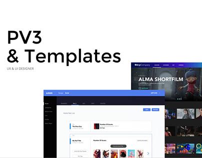 PV3 & TEMPLATES