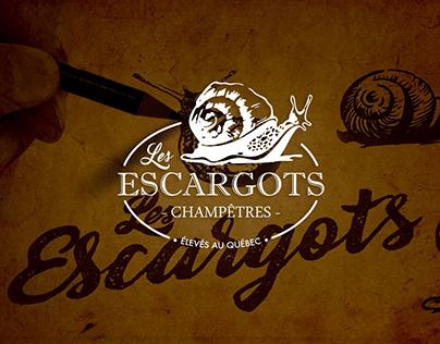 BRANDING   Les Escargots Champêtres, élevage