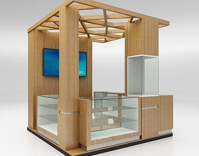 Selling Kiosk Booth