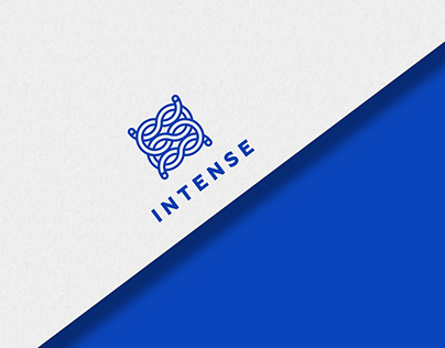 """""""Intense"""" logo & identity"""