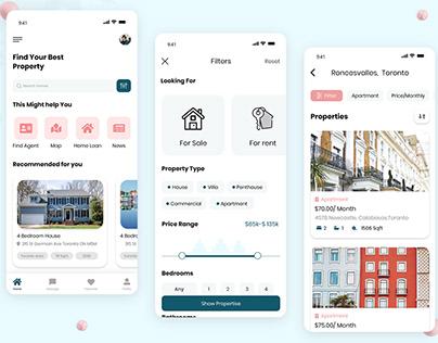 Top Real Estate App UI Design